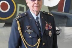 plk. Alois Dubec, veterán RAF, col Alois Dubec, exRAF.
