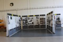 Naše výstava o Nebeských jezdcích jako součást dne otevřených dveří v Hangáru 3 Classic Trainers. Our exhibition about the movie Riders in the Sky.