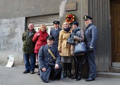 14 - Unveiling ceremony of comemmoration plaque for remmembrance of Joy Kadečková – Turner.
