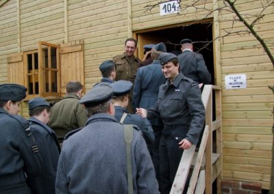 2 - Reenactment of life in Stalag Luft III Sagan, commemoration event, anniversary of the Great Escape