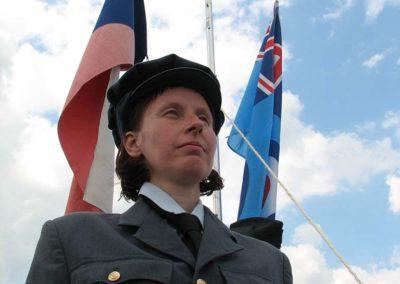 20 - Lucie Eliášová, členka našeho klubu vojenské historie