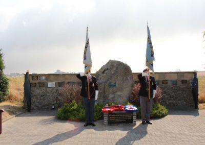 Battle of Britain Day, Pamětní deska československým letcům v RAF, Hurricane and Spitfire Museum, Manston, Velká Británie, 15. 9. 2016