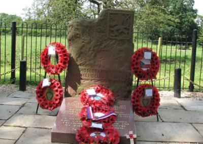 Vzpomínka na příchod československých vojáků do Velké Británie, Cholmondeley, 2012