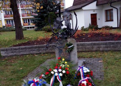 Vzpomínka na československé letce RAF z Blovicka, Blovice, 11. 11. 2017