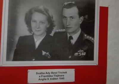 Vzpomínka na Františka Trejtnara, pilota RAF, Kunovice, 16. 9. 2017
