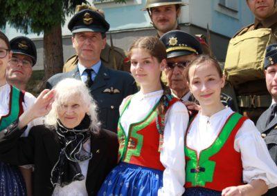 Vzpomínka na Josefa Valčíka, Silver A, a Josefa Balejku, RAF, Smolina, Valašské Klobouky, 27. 5. 2017