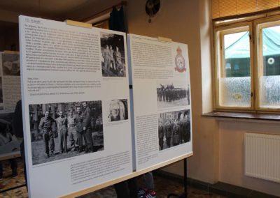 Vzpomínka na Vildu Jakše, boxera a palubního střelce RAF, Bratčice, 22. 11. 2015