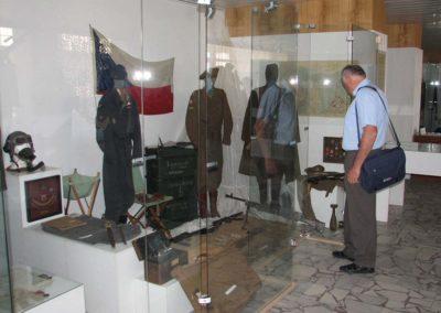 Výstava Armáda v proměnách času, Vsetín, 2007