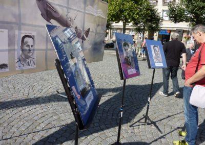 Odhalení pamětních desek, letcům RAF, rodákům z Loun, 16. 9. 2015
