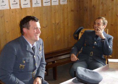Z natáčení dokumentu České televize Dejte nám křídla. 2011