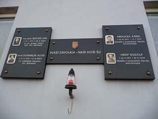Vzpomínka na letce RAF, rodáky z Moutnice, 2010