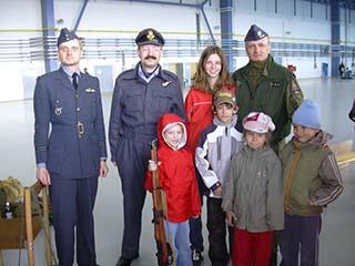 Flying Rhino, letecká základna Náměšť nad Oslavou - den otevřených dveří, 2008