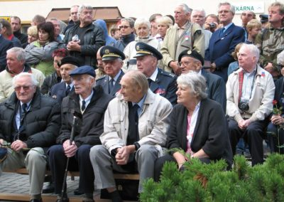 Pietní akt u příležitosti Bitvy nad Krušnými horami, Kovářská, 2008
