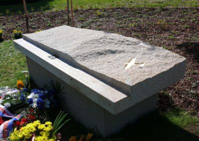 Odhalení památníku Karla Kuttelwaschera, Svatý Kříž u Havlíčkova Brodu, 2011