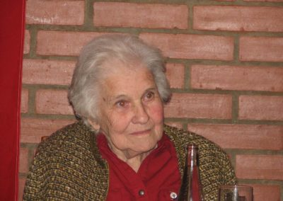 Beseda s plk. Jaroslavem Hofricheterm, RAF a Margit rytířovou, WAAF, Zdice, 2009