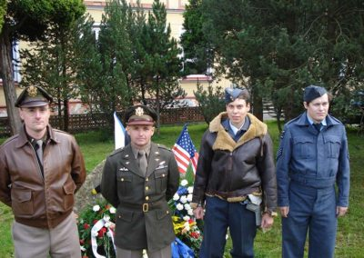 Pietní akt u příležitosti Bitvy nad Krušnými horami, Kovářská, 2009