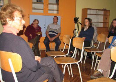 Trhovokameničtí židé a příslušníci RAF, Beseda s PhDr. Dagmar Lieblovou, Trhová Kamenice, 2012