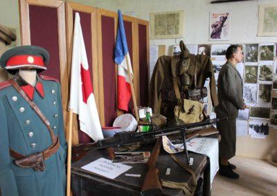 Vzpomínková akce, výstava o československých perutích v RAF a rodácích, Křinec, 23. 4. 2016