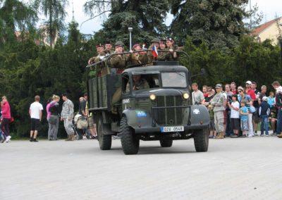 Slavnosti svobody, Oslava výročí konce války v Evropě, Plzeň, 2012