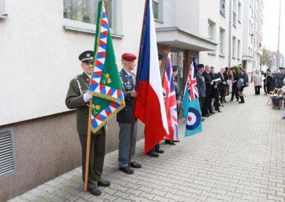 Odhalení pamětní desky Ladislavu Světlíkovi, Plzeň, 25. 3. 2017