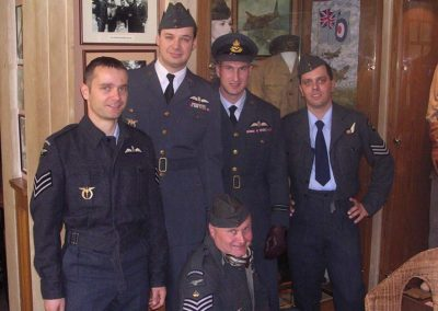 Odhalení památníku Williamu L. Kigginsovi, USAAF, Brno Slatina, 2007,