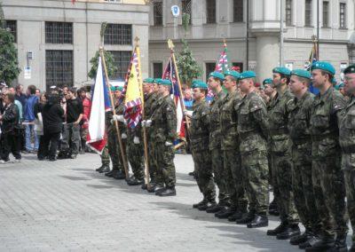 65. výročí osvobození, Brno, 2010