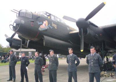 Reenactors Weekend a vzpomínka na Dam Busters, east Kirkby, 2009