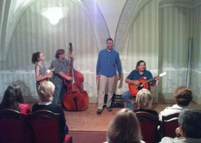 Trhovokameničtí židé a příslušníci RAF, Koncert klezmerové kapely Klec, Trhová Kamenice, 1. 9. 2012
