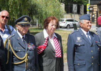 Vzpomínka na 75. výročí Bitvy o Británii, Praha, 10. 7. 2015