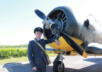 18 - Filip Procházka, zakladatel a předseda Kvh 276th Sqdn. (reenacted) RAF, z.s.