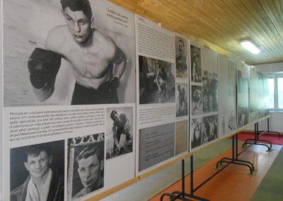 Vzpomínka na Vildu Jakše, boxera a palubního střelce RAF, Bratčice, 21. 8. 2016