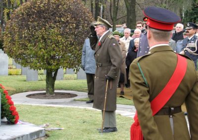 Poppy Day, Remembrance Sunday, Praha, 2006