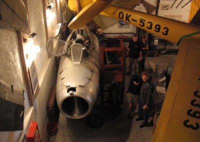 Letecké muzeum v Deštné, setkání letců, Deštná, 2009