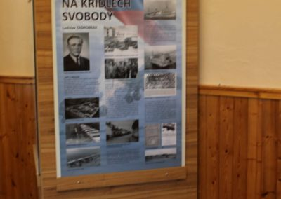 Vzpomínka na 100. výročí narození Františka Bulise a Ladislava Zadrobílka, pilotů RAF, Hrochův Týnec, 14. 5. 2016