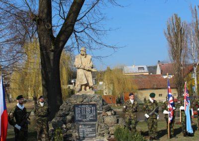 Vzpomínka na Josefa Brykse, pilota RAF a oběť komunistického režimu, Olomouc, Bělkovice - Lašťany, 18. 3. 2016