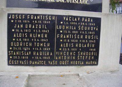 Vzpomínka na Josefa Františka Otaslavice, 2003