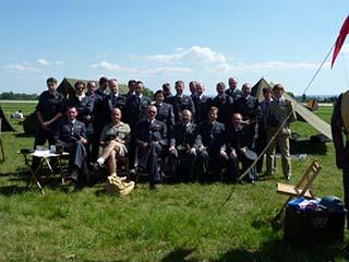 3 - Aviatická pouť Pardubice, ročník 2010, poslední velká ukázka RAF reenactors, za účasti polských kamarádů