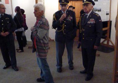 Trhovokameničtí židé a příslušníci RAF, výstava, Trhová Kamenice, 2012