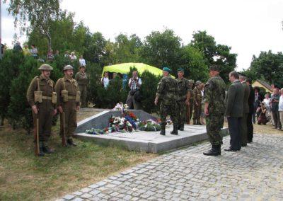 Den amerických letců - vzpomínka na zavražděné letce USAAF, Teplice, 2013