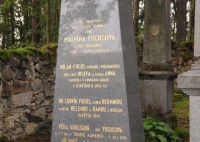 Pietní akt za oběti holocaustu, Odhalení památníku obětem holocaustu a příslušníkům RAf z Trhové Kamenice, Dřevíkov, 2. 9. 2012