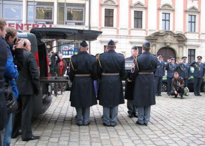 Pohřeb generála Miroslava Štandery, 26. 2. 2014, Plzeň