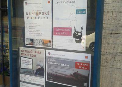 Beseda o filmu Nebeští jezdci, Městská knihovna Praha, 4. 5. 2015