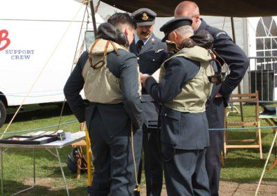 Letecký den, prezentace československých letců v Bitvě o Británii, Imperial War Museum Duxford, 2011
