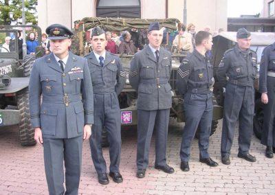 Odhalení památníku Williamu L. Kigginsovi, USAAF, Brno Slatina, 2007