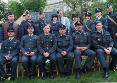 16 - Hromadná fotografie s kolegy a kamarády, Slavnosti svobody, Plzeň