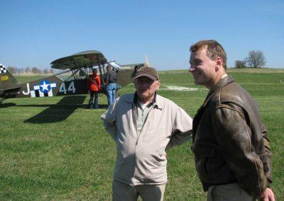 Letiště Žirovnice, návštěva generála Miroslava Štandery, 2007