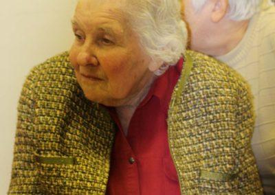 Oslava narozenin Margit Rytířové, Beroun, 18. 12. 2015