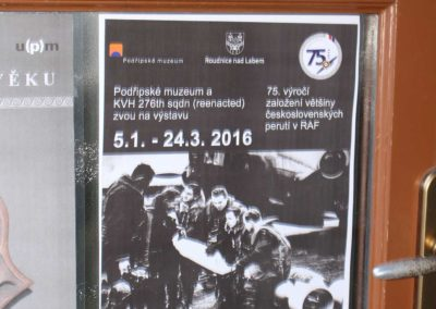Českoslovenští letci v RAF – Podřipské muzeum