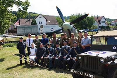 Vzpomínka na letce RAF ze Vsetínska