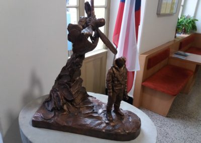 Odhalení busty Františku Truhlářovi